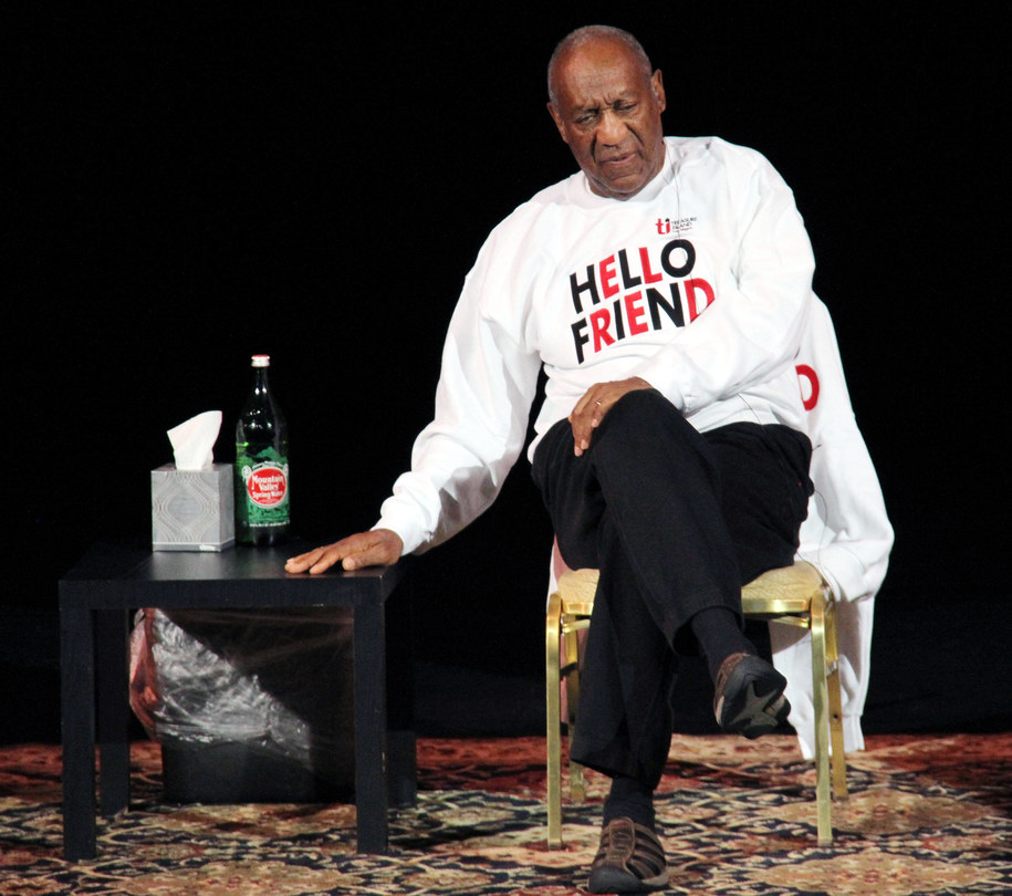 Bill Cosby /DPA/Barry Sweet   /PAP