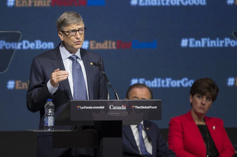 Bill Gates miał znaleźć się na liście kandydatów na wiceprezydenta w kampanii Demokratów /AFP