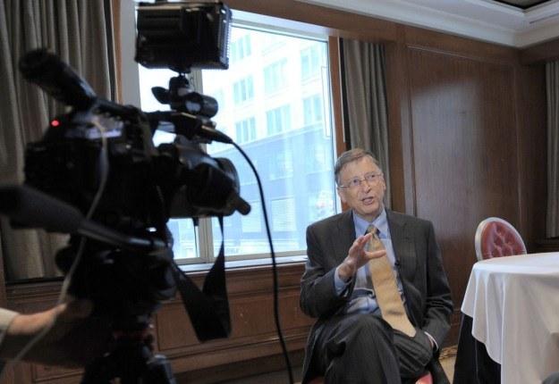 Bill Gates na antenie CBS skrytykował system Windows Phone /AFP