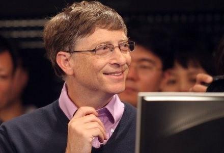 Bill Gates nie martwi się już o Windowsa. Teraz zajmuje się działalnością dobroczynną /AFP