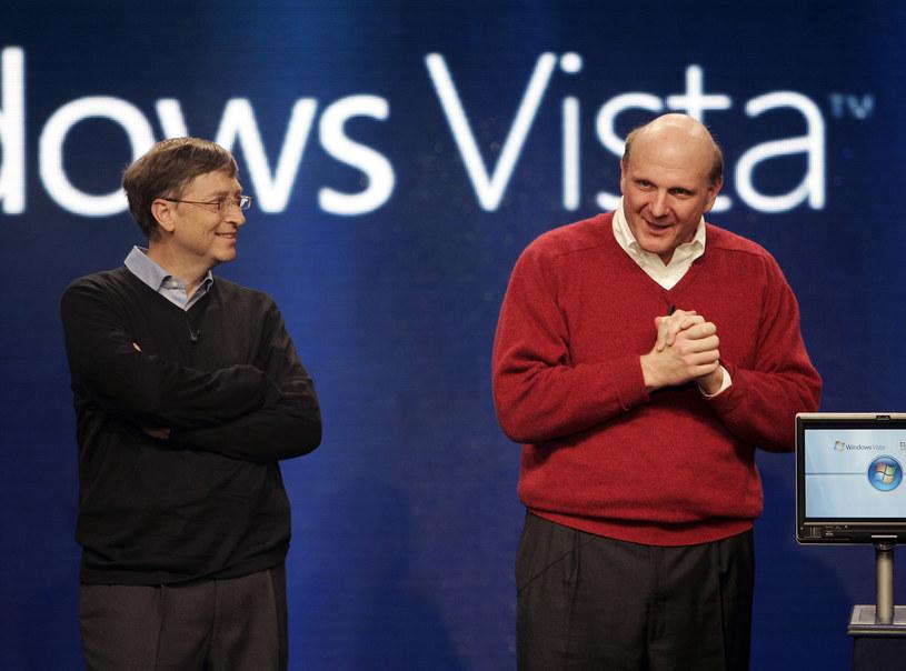 Bill Gates posiada mniej akcji Microsoftu niż Steve Ballmer. /AFP