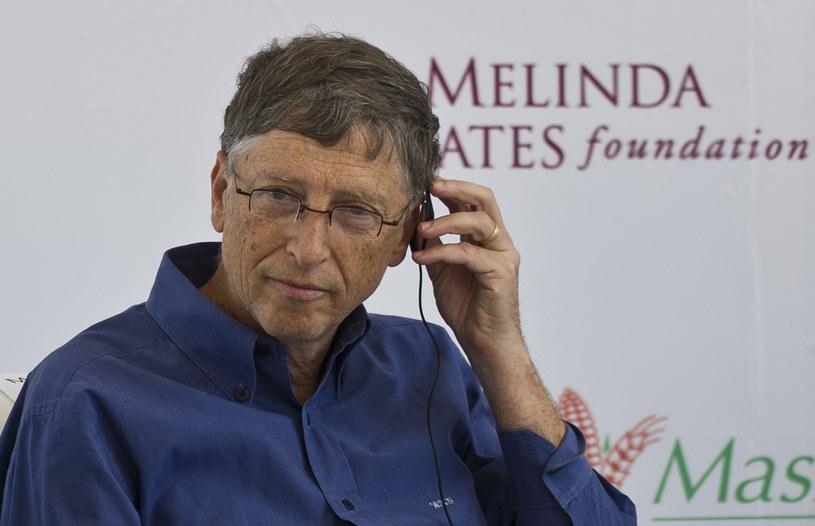 """Bill Gates w ostrych słowach wyraża się o """"filantropijnych"""" pomysłach Google /AFP"""