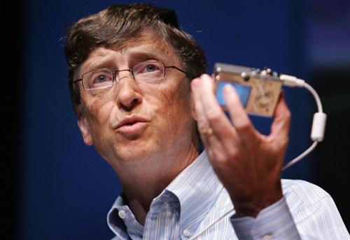 Bill Gates, współzałożyciel Microsoft /AFP