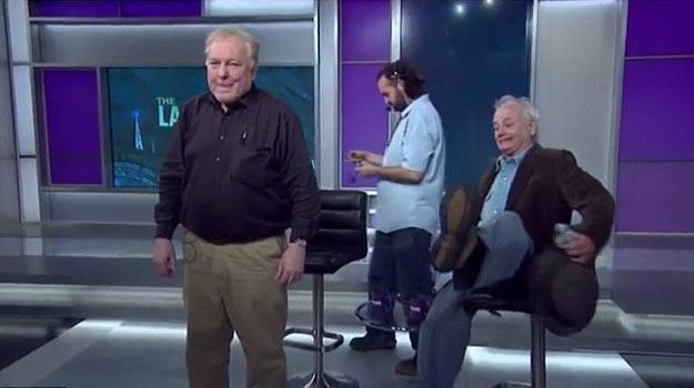 "Bill Murray w programie ""Last Word"" /"