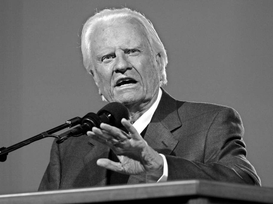Billy Graham /Peter Foley /PAP/EPA