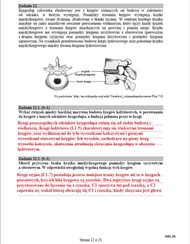 Biologia - poziom rozszerzony, str. 12 /INTERIA.PL