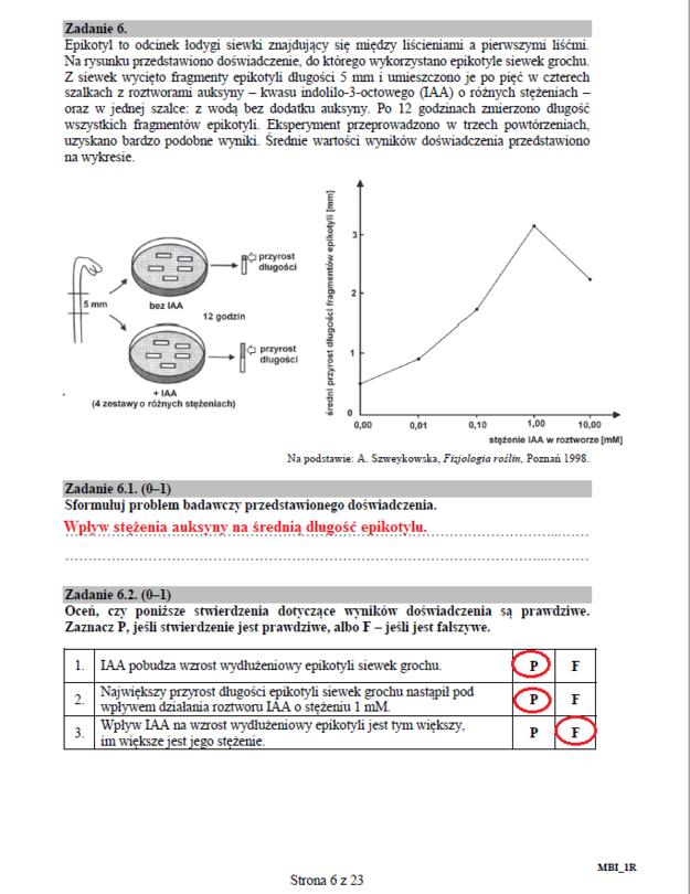 Biologia - poziom rozszerzony, str. 6 /INTERIA.PL