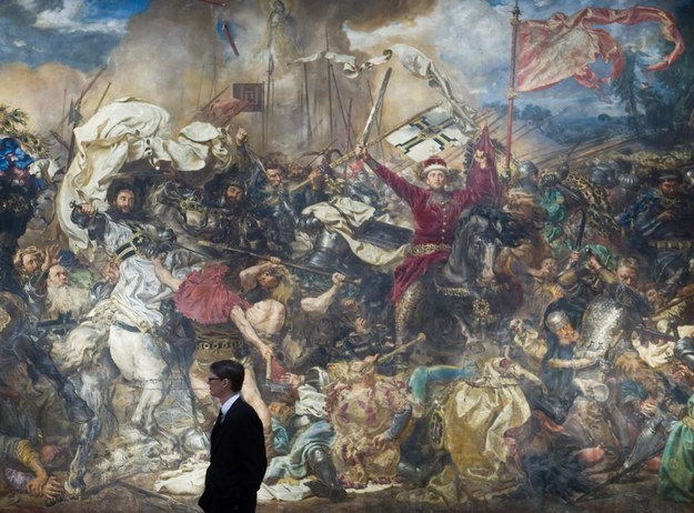 Bitwa pod Grunwaldem Jana Matejki/fot. B. Krupa /East News
