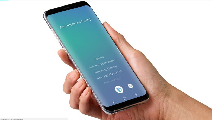 Bixby to jedna z najważniejszych funkcji Galaxy S8 /materiały prasowe