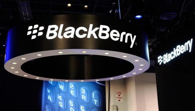 BlackBerry jednak na plusie? /AFP