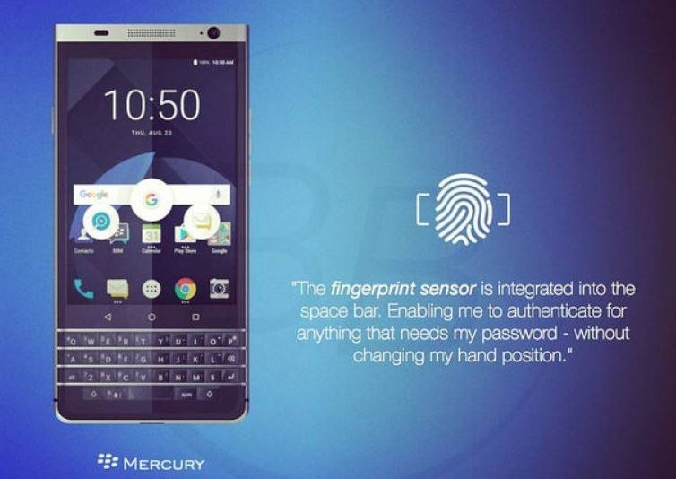 Blackberry Mercury /Phonearena /Internet