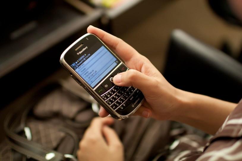 Blackberry notuje spadki już od 2010 roku /©123RF/PICSEL