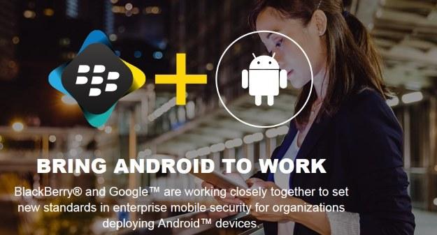 BlackBerry zaprezentuje smartfona z Androidem /materiały prasowe