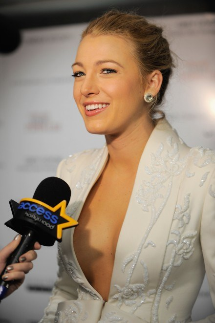 """Blake Lively na premierze filmu """"The Private Lives of Pippa Lee"""" w Los Angeles /Getty Images/Flash Press Media"""