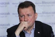 Błaszczak: Nagrody były błędem, przekazałem swoją na Caritas Polska