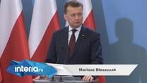 Błaszczak (PiS) o domniemanej próbie ataku na prezydenta Dudę (TV Interia)