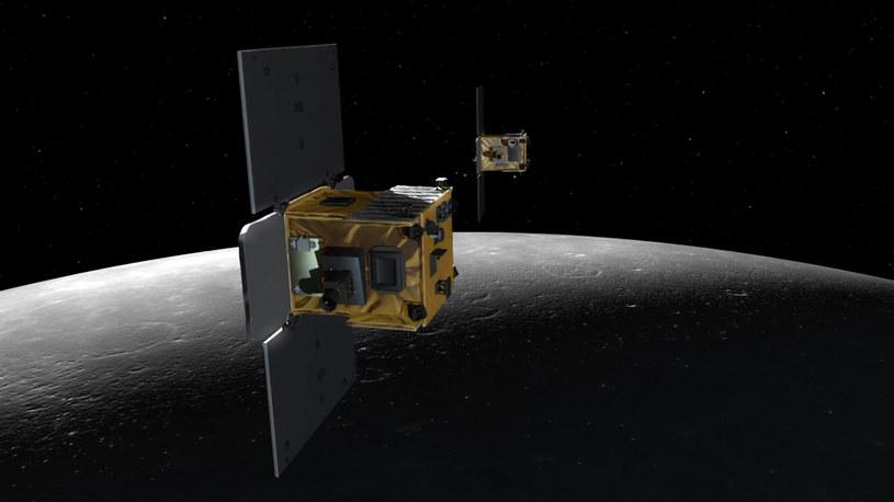 Bliźniacze sondy GRAIL rozbiją się o powierzchnię Księżyca /NASA
