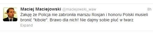 Błogosławieni ubodzy duchem. /Twitter.com /INTERIA.PL