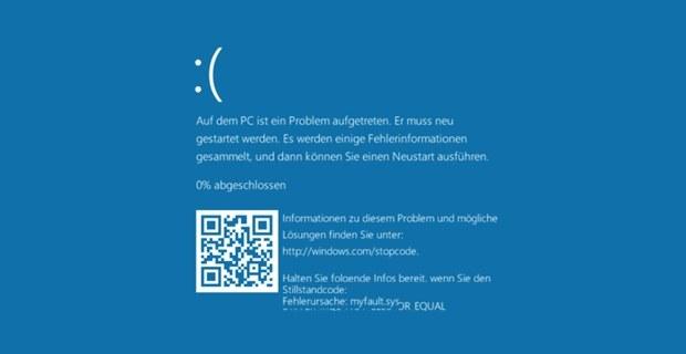 Blue Screen of Death w Windows 10 z nową funkcją QR code /materiały prasowe