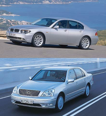BMW 7 i Lexus LS430 (kliknij) /INTERIA.PL