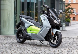 BMW C Evolution po zmianach