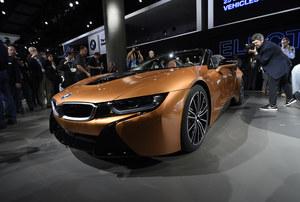 BMW i8 Roadster imponuje osiągami