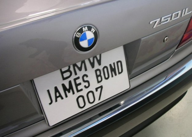 BMW jamesa bonda.