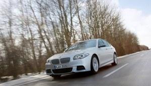 BMW M550d - pierwsza jazda