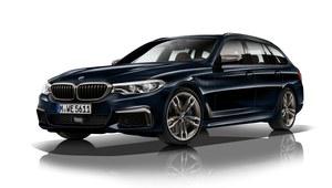 BMW M550d xDrive - na cztery turbiny