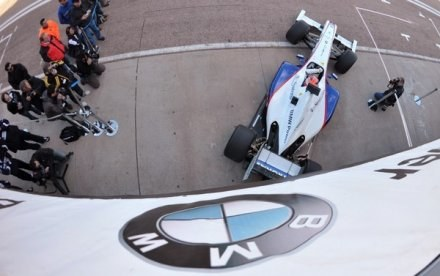 BMW Sauber nie opuszcza Formuły 1 /AFP