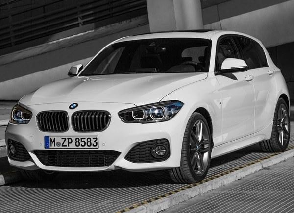 BMW serii 1 po liftingu (typoszereg F20/F21)