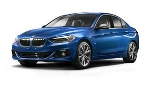 BMW serii 1 sedan zaprezentowane