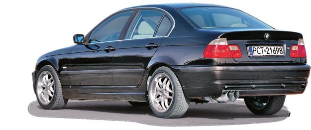 BMW SERII 3 E46 (1998-2007), polecane wersje: 320i/170 KM, 325i/192 KM. /Motor