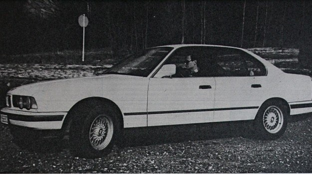 BMW serii 5 (E34) /Motor