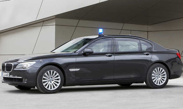 BMW serii 7 High Security /