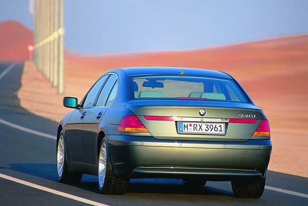 BMW Serii 7 (kliknij) /INTERIA.PL