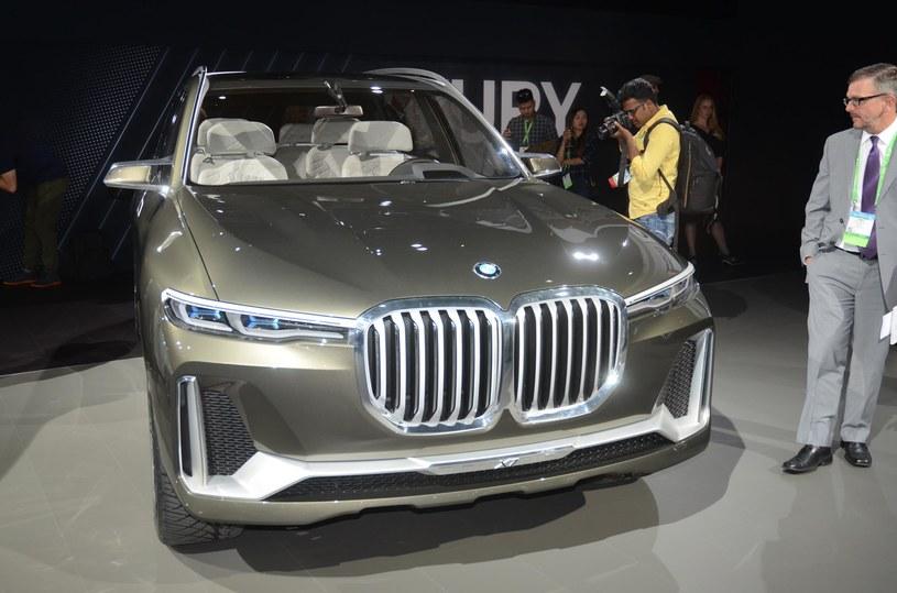 BMW X7 iPerformance, czyli zapowiedź X7 /