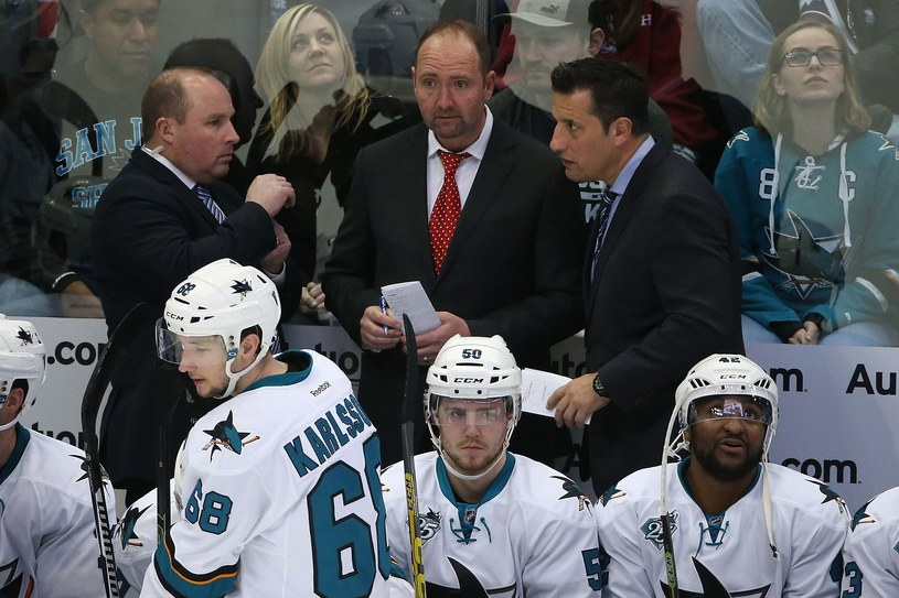 Bob Boughner (pierwszy z prawej) /AFP