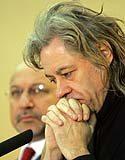 Bob Geldof modli się o poparcie akcji pomocy Afryce /AFP
