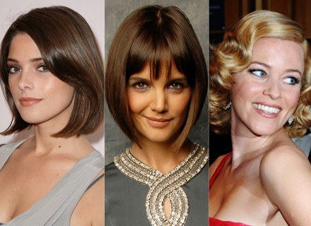 Boba noszą: Ashley Greene,  Katie Holmes, Elizabeth Banks /Getty Images/Flash Press Media