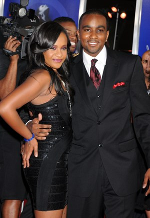 Bobbi Kristina Brown i Nick Gordon / 	Celebrity Photo   /PAP/EPA