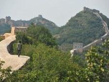 Bobby Brown napisał swoje nazwisko na Wielkim Murze Chińskim