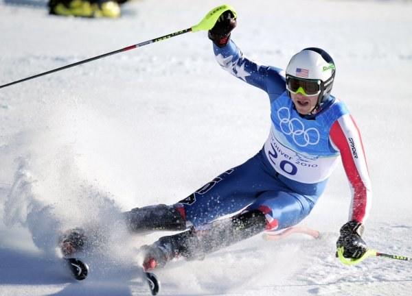 Bode Miller w drodze po złoty medal igrzysk olimpijskich w Vancouver /AFP