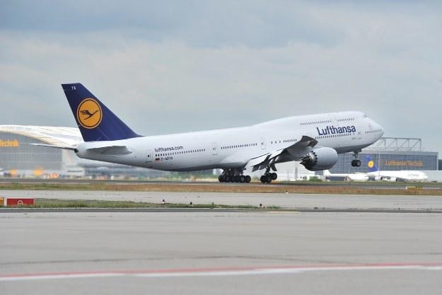 Boeing 747-8 w barwach Lufthansy /materiały prasowe