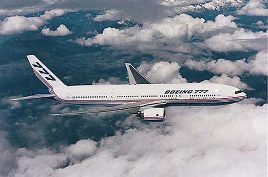 Boeing 777  /Fot. NASA