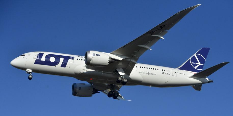 Boeing 787 Dreamliner /Tytus Żmijewski /PAP
