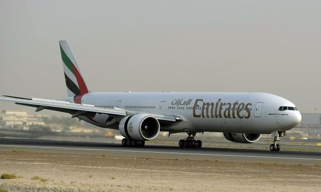 Boeinga 777-300ER linii Emirates /AFP