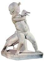 Boetos z Chalkedonu, Chłopiec duszący gęś, kopia rzymska /Encyklopedia Internautica