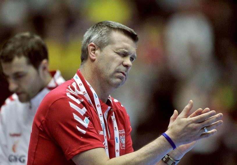 Bogdan Wenta, trener Vive Targów Kielce /AFP