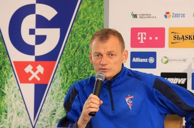 Bogdan Zając, drugi trener Górnika/fot. Dariusz Hermiersz, www.gornikzabrze.pl /Informacja prasowa